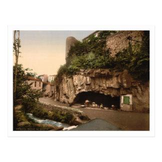 La gruta, Royat, Auvergne, Francia Postales