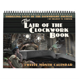 La guarida del calendario del libro del mecanismo