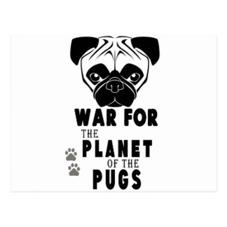 la guerra para el planeta de barros amasados postal
