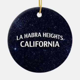 La Habra Heights California Adornos De Navidad