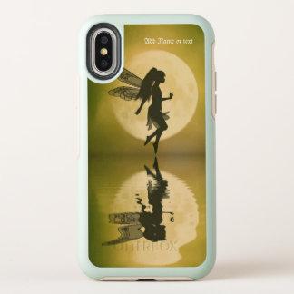 La hada refleja el caso del iPhone del iPhonex
