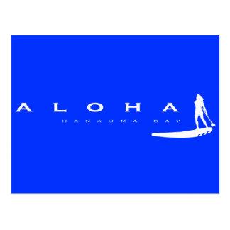 La hawaiana Hawaii se coloca para arriba de Postal