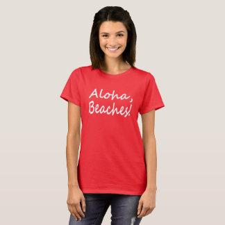 La hawaiana vara la camiseta
