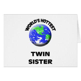 La hermana gemela más caliente del mundo felicitaciones