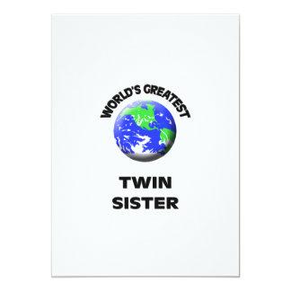 La hermana gemela más grande del mundo comunicados
