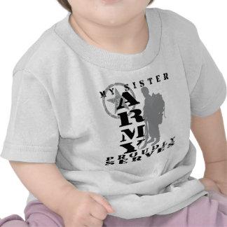 La hermana sirve orgulloso - al EJÉRCITO Camisetas