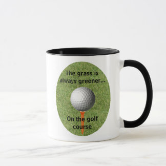 La hierba es siempre… un golf más verde - taza