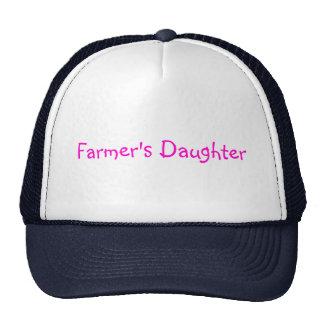 La hija del granjero gorros bordados