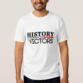 La historia es escrita por la camiseta de los