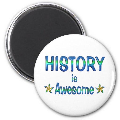 La historia es impresionante imanes para frigoríficos
