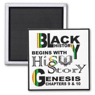 La historia Imán-Negra comienza con HiSStory© Imán Cuadrado