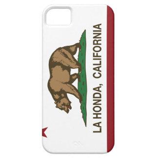 La Honda de la bandera de la república de Californ iPhone 5 Case-Mate Coberturas