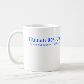 La hora no contiene a seres humanos reales taza de café