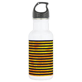 La hormiga ambarina elegante raya el modelo botella de agua
