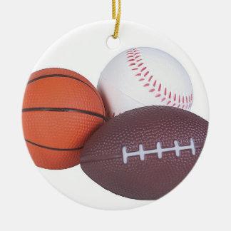 La idea del regalo de la fan de deportes se adorno de cerámica