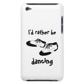 La identificación esté bailando bastante los zapat iPod touch protector