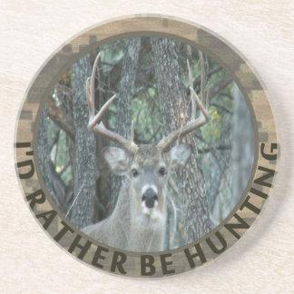 La identificación esté cazando bastante al cazador posavasos cerveza