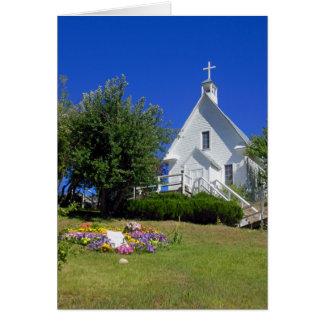 La iglesia católica de San José Tarjeta De Felicitación