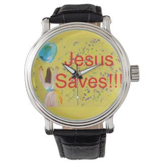 La iglesia curativa Jesús de la esperanza ahorra Reloj De Pulsera