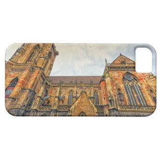 La iglesia de San Martín, Colmar, Francia Funda Para iPhone SE/5/5s