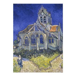La iglesia en Auvers de Vincent van Gogh Comunicados Personalizados