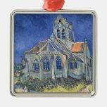 La iglesia en el Auvers-sur-Oise Adornos