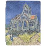 La iglesia en el Auvers-sur-Oise Cubierta De iPad