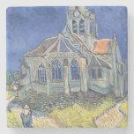 La iglesia en el Auvers-sur-Oise Posavasos De Piedra