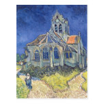 La iglesia en el Auvers-sur-Oise Postal