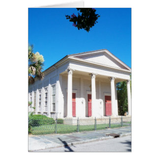 La iglesia episcopal de St Mark, Charleston, SC Tarjeta Pequeña