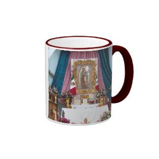 La Iglesia Sta. Maria Del Oro Jalisco Taza De Dos Colores