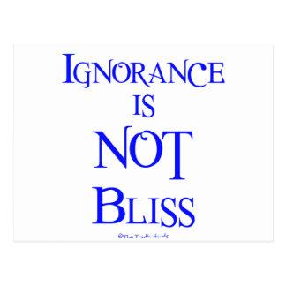 La ignorancia no es dicha postal