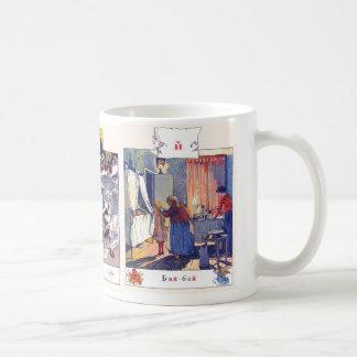 La imagen del alfabeto ruso asalta completo, #4 de taza de café