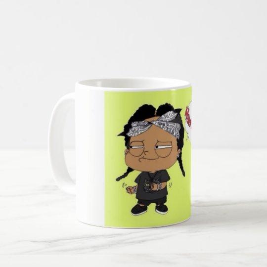 La imagen diseñó la taza