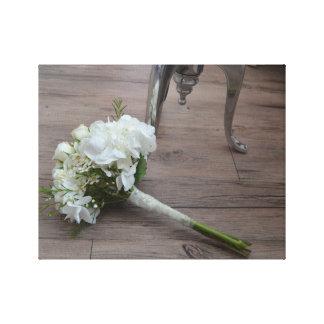 La impresión de la lona del ramo de la novia
