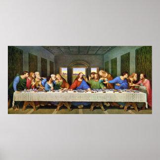La impresión de la última cena poster