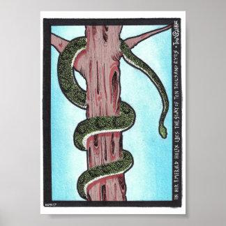 """""""La impresión del arte x7 de la serpiente"""" 5"""""""""""