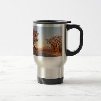 La impulsión del país desea visión máxima tazas de café