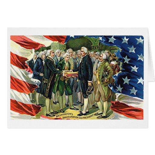 La inauguración de Washington del vintage como pre Tarjetón