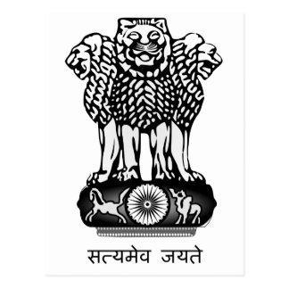 La India Ashoka Chakra Postal