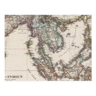 La India del este Postal