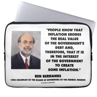 La inflación de Ben Bernanke erosiona la deuda Manga Computadora