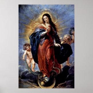 La Inmaculada Concepción Póster