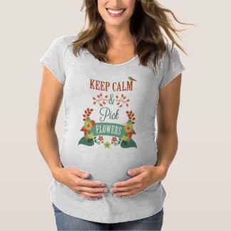 La inspiración mantiene camiseta de maternidad