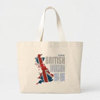La invasión británica 1964-1966 bolsa tela grande
