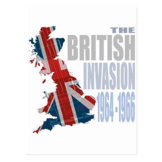 La invasión británica 1964-1966 postal