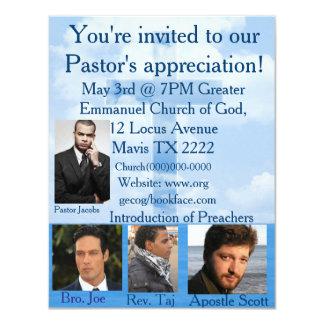 La invitación de la iglesia personaliza