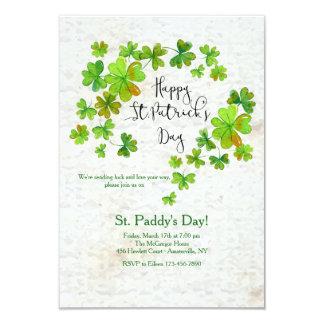 La invitación de St Patrick de la cascada del