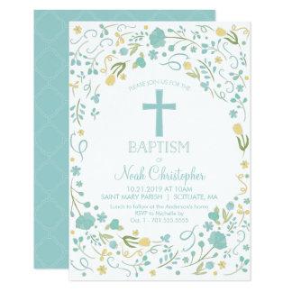 La invitación del bautismo, bautizo invita,