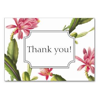 La invitación floreciente del boda del cactus le tarjeta